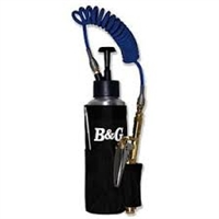 B & G - AccuSpray - compact design, 16 oz capacity, 6' coiled hose, high efficiency pump, push button trigger provides fine spray and includes a C & C straw.