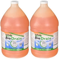 Rockwell - InVade Bio Drain is a specialized drain cleaner which utilizes premium natural microbes and citrus oil. Its thickened formula clings to the sides of drains while eating through scum and eliminating odors.