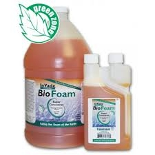 InVade Bio Foam is the single most effective product for eliminating scum, odors and organic build up in commercial kitchens. Its super-concentrated foaming formula contains a blend of premium natural microbes and citrus oil for eliminating scum, odors.