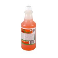 InVade Bio Drain is a specialized drain cleaner which utilizes premium natural microbes and citrus oil. Its thickened formula clings to the sides of drains while eating through scum and eliminating odors.