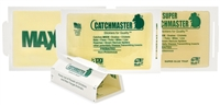 CM 72 MB classic mouse cardboard glue traps with a peanut butter scent. 72/case CatchMaster Glue Boards by AP&G are for anyone wanting to Go Green. Large glue surface 32 square inches, simply the best adhesive formula available