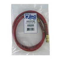"B & G - D-50 Replacement 48"" Red Hose"