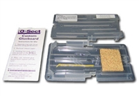 "D-Sect Insect Bait Station - Clear Plastic - 6.25"" x 3.5"" x 5/8"" - 48/case - Glue boards also available."
