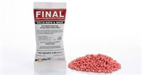 Bell Labs Rodenticide - Final Place Packs - Rats and mice can't resist the flavor and highly palatable formulation of Final Blox rodent bait, made with more than 16 human food-grade ingredients for unsurpassed acceptance and control.