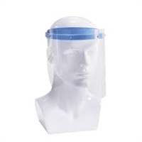A P & G - Protective Face Shield - sold in packs of 10 shields