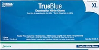Neogen - TrueBlue Premium Powder-Free Nitrile Gloves provide superior protection, durability and sensitivity. Gloves are 4.0 mil (0.10 mm) in thickness in the palm, 4.5 (0.11 mm) in the fingertip and have a textured finish.