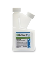 Optigard Flex Liquid may be applied to structural voids, in cracks, crevices, corners or other out of the way places, such as under and behind kitchen appliances and baseboards, under sinks, around windows, door frames, pipes, attic, garage.