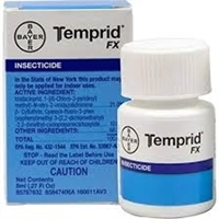 Temprid FX is a powerful broad spectrum insecticide that controls over 50 nuisance pests. It can be applied indoors and outdoors. Enhanced label for controlling spiders and scorpions. DO NOT SELL OR SHIP TO NEW YORK