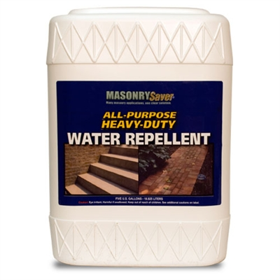 MasonrySaver All Purpose Heavy-Duty Water Repellent - 5 Gallon