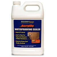 MasonrySaver Acrylic Waterproofing Sealer - 1 Gallon