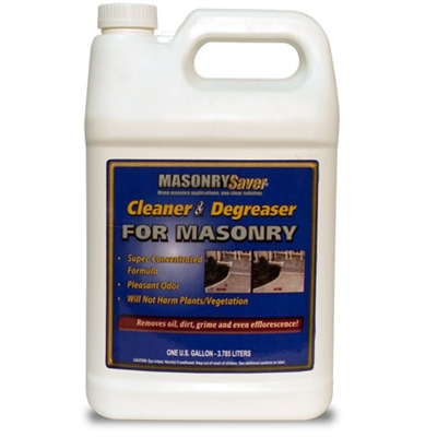 MasonrySaver Cleaner and Degreaser - 1 Gallon