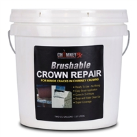 ChimneyRx Brushable Crown Repair - 2 Gallon