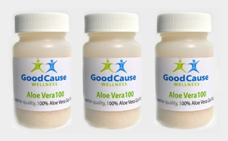 ALOE VERA100 Drink Mix, 3 Bottle Supply