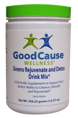GREENS REJUVENATE AND DETOX Drink Mix