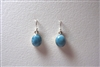 Larimar Earrings  'Lago'