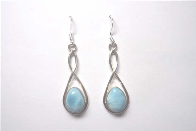 Larimar Earrings 'Mare'