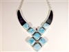 Larimar necklace  'Queen'