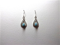 Larimar Earrings 'Seda Blu'