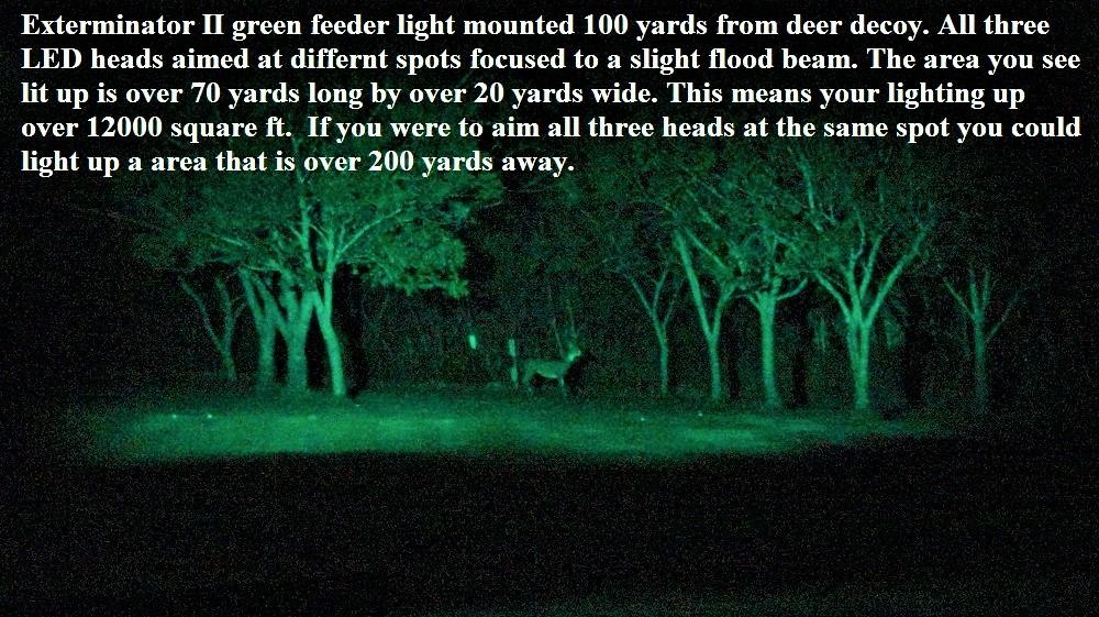 Exterminator II Feeder Light