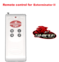 Remote control for Exterminator II