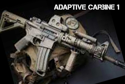 Adaptive Carbine 1 (New - Beginner)