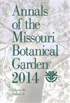 Annals of the Missouri Botanical Garden 99(4)