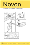 Novon 26(4), A Journal for Botanical Nomenclature