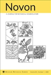 Novon, A Journal for Botanical Nomenclature 28(1)