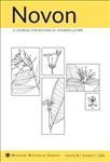 Novon, A Journal for Botanical Nomenclature 28(2)