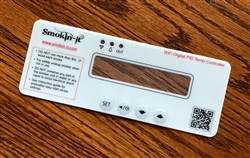 <b>Replacement Face Plate - Digital-WiFi Smoker</b>