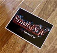 Smokin-It Logo Metal Sign