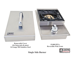 <b>Lion Single Side Burner Natural Gas</b>
