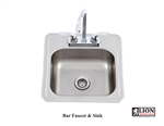 <b>Lion Bar Faucet and Sink</b>
