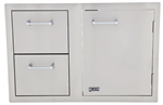 <b>Lion Door and Drawer Combo</b>