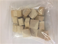 <b>Oak Wood chucks/blocks 4 lb. bag</b>