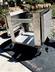 <b>Stainless Steel Smoker Cart - Model #1 and All #2 Smokers</b>