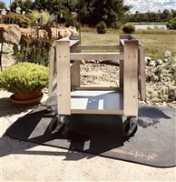 Stainless Steel Smoker Cart - All Model #3 Smokers