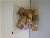 Sugar Maple Wood chunks/blocks 4 lb.bag
