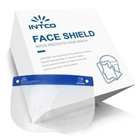 Face Shield One Size Fits Most Full Length Anti-fog Disposable