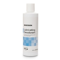 Lubricating Ostomy Appliance Deodorant McKesson Lubricating 8 oz Squeeze Bottle Unscented