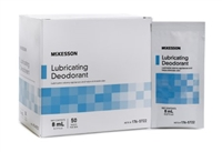 Lubricating Ostomy Appliance Deodorant McKesson Lubricating 8 m, Packet Unscented