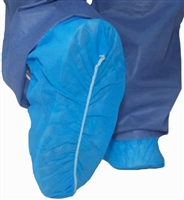 Shoe Cover McKesson X-Large Shoe High Without Tread Blue NonSterile