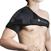 Adjustable Shoulder Stabilizer with Harness Black