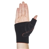 Thermoskin Cross-X CMC Thumb Splint Black