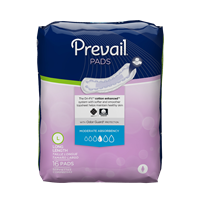 Prevail Bladder Control Pad Moderate Long