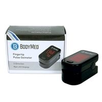 Fingertip Pulse Oximeter Black
