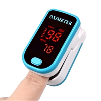 Fingertip Pulse Oximeter Blue