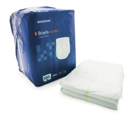 Adult Incontinent Brief McKesson Ultra Tab Closure 2X-Large Bag of 12