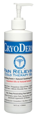 CryoDerm Cold 16 oz Gel Pump