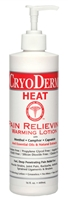 CryoDerm Heat 16 oz Lotion